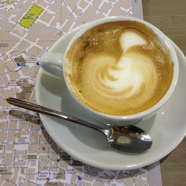 Mmmm...Italian coffee.
