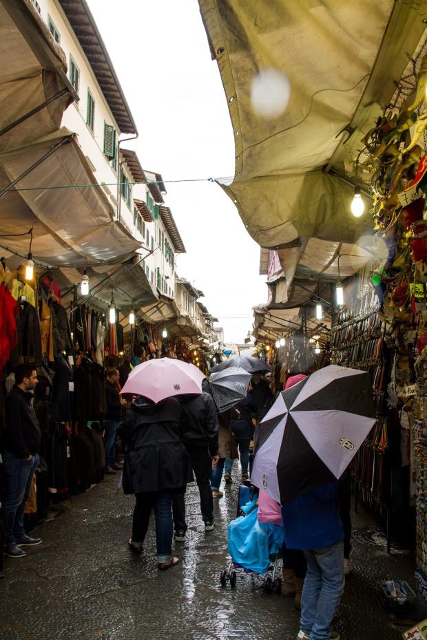 San Lorenzo market.