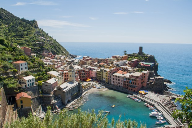 Vernazza was definitely one of the prettiest of the Cinque Terre.