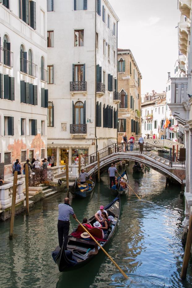 #3 - with gondolas.