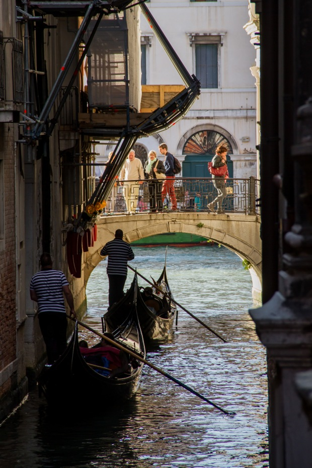 #4 - with gondolas.