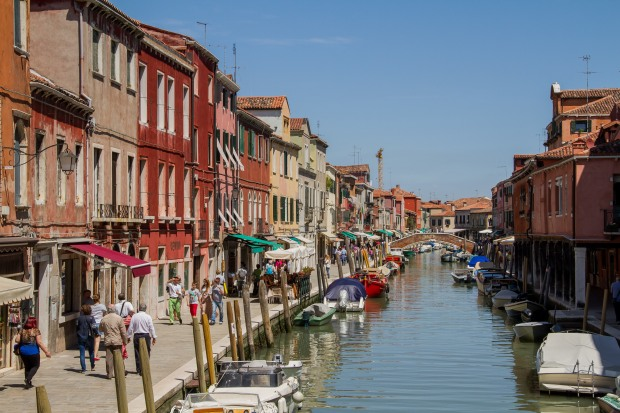 Murano was cute - lots of canals as well.