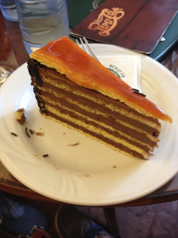 Allow me to introduce you to the Dobos Cake!