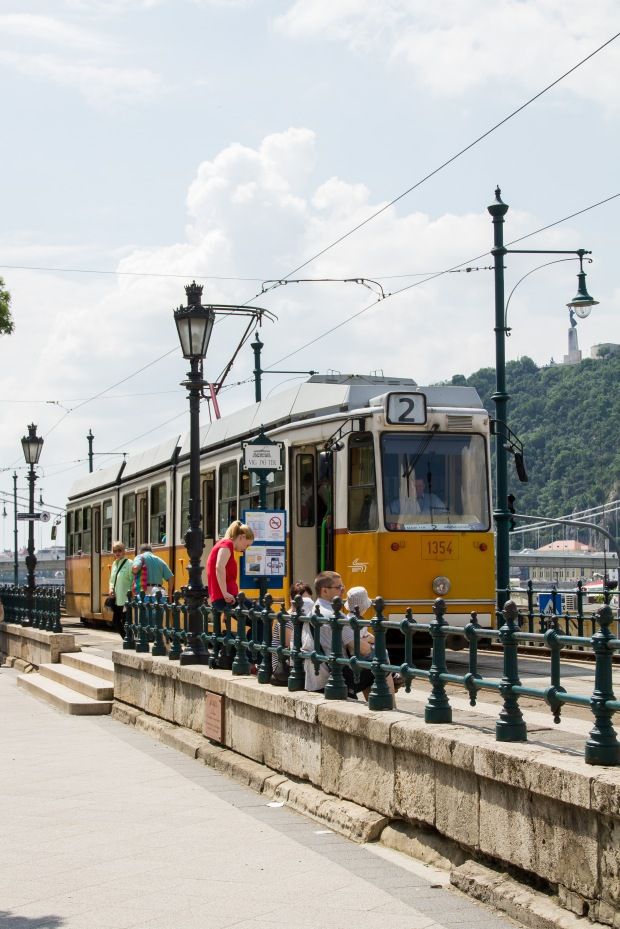 The historic tram.