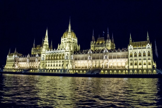 And last, but certainly not least, the Hungarian Parliament.  This was absolutely breathtaking at night in person!